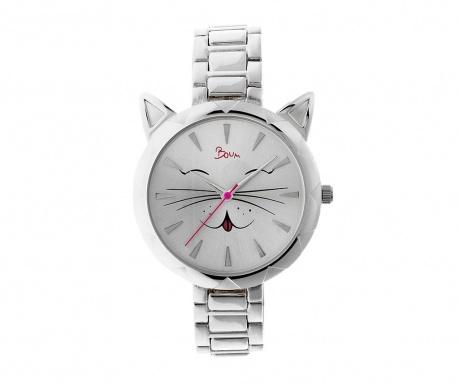 Dámské hodinky Boum Miaou Silver