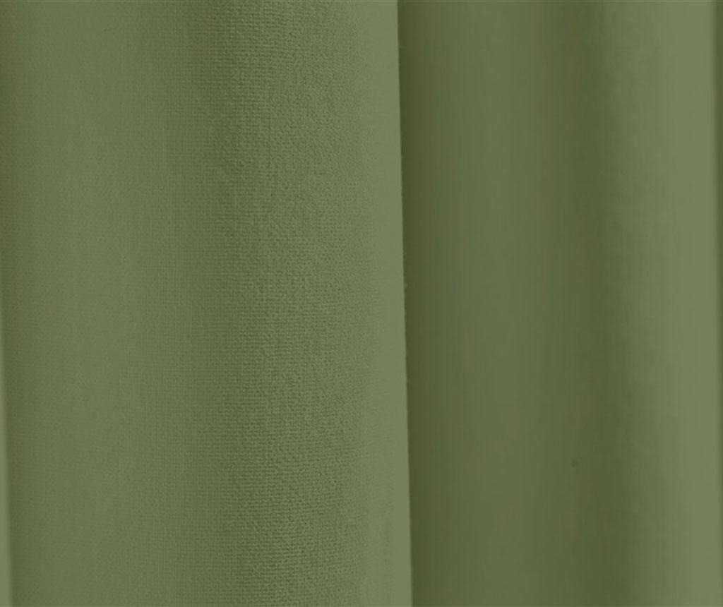 Zastor Plane Green 140x270 cm