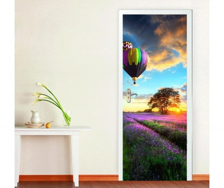 Naklejka na drzwi Provence Lavender