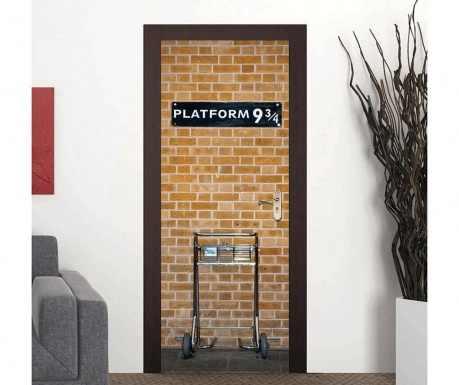 Sticker pentru usa Kings Cross Platform