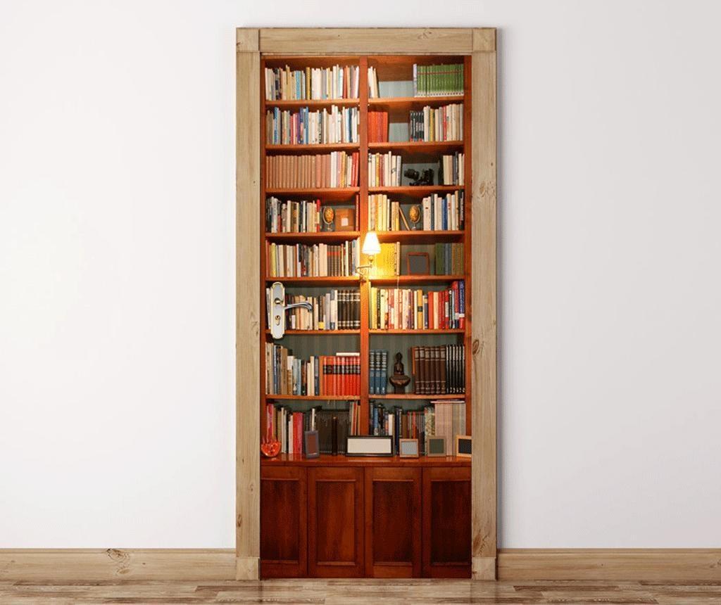 Vintage Bookcase Ajtómatrica