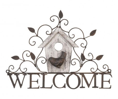 Decoratiune de perete Welcome Home