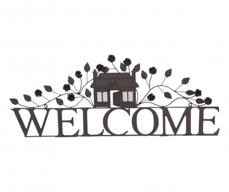 Decoratiune de perete Leafy Welcome