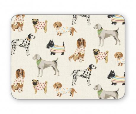 Set 4 individualuri Show Dogs 21.5x29 cm