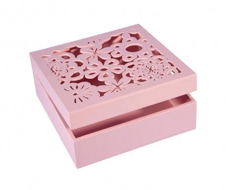Cutie pentru bijuterii Daisy Pink