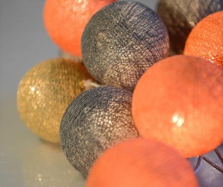 Peach Marble Fényfüzér