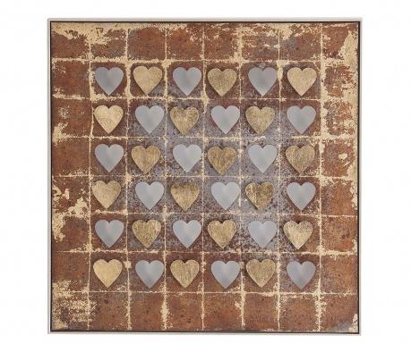 Decoratiune de perete Hearts