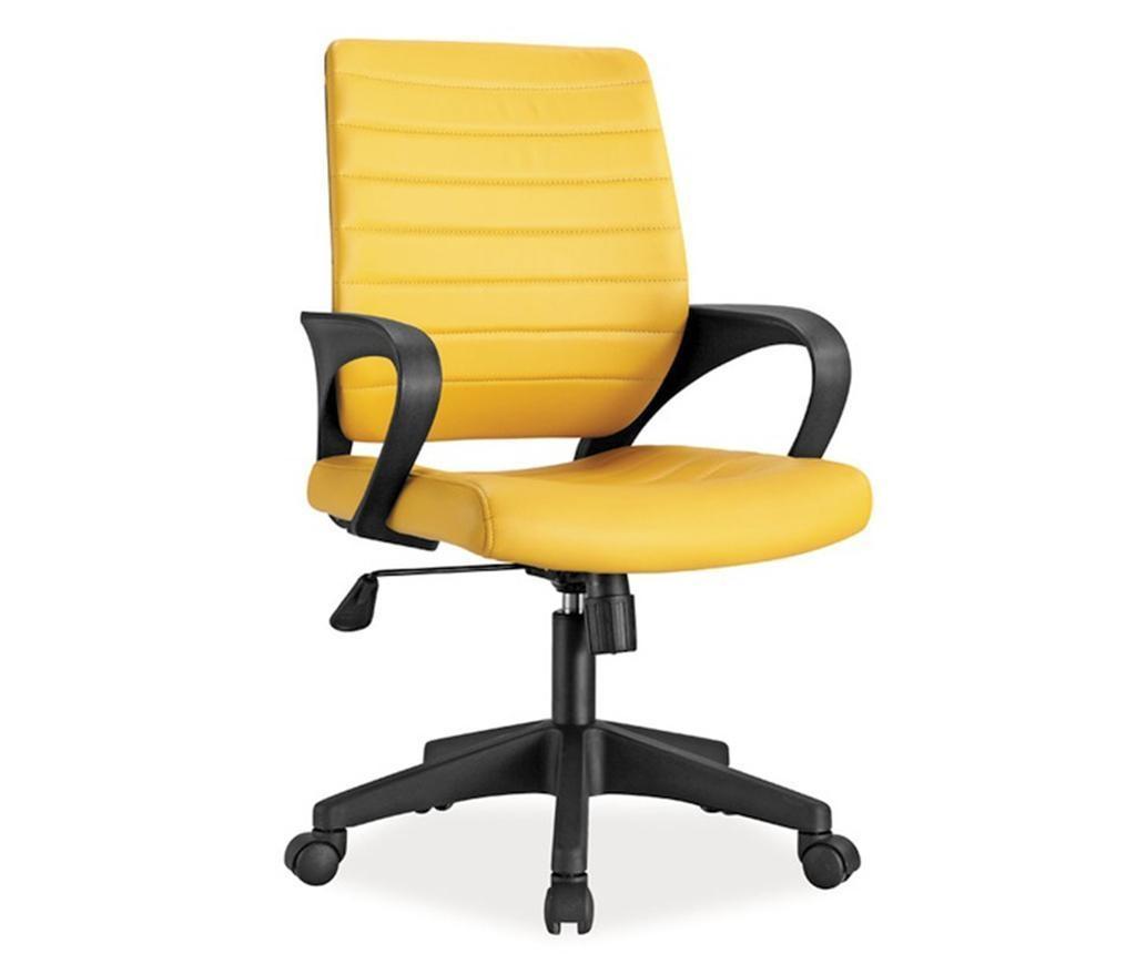 Pisarniški stol Clarice Yellow