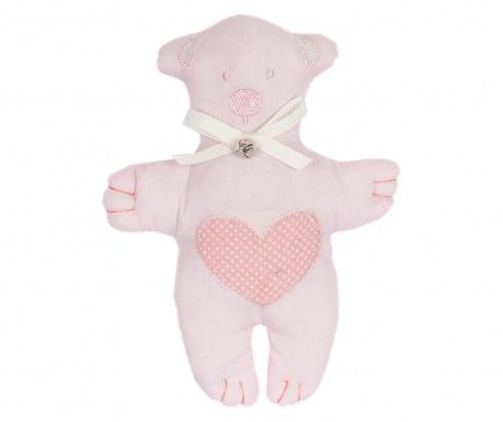 Jucarie de plus Teddybear Heart Pink