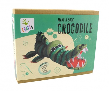 Set de creatie Sock Crocodile