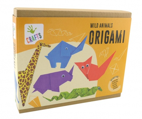 Kreativni set Origamy Wild Animals