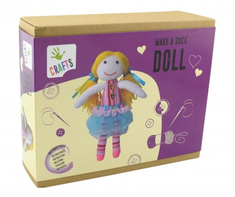 Kreativni set Sock Doll