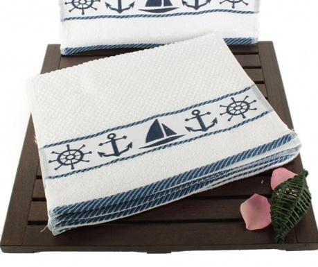Zestaw 6 ręczników kąpielowych Sailor 30x50 cm