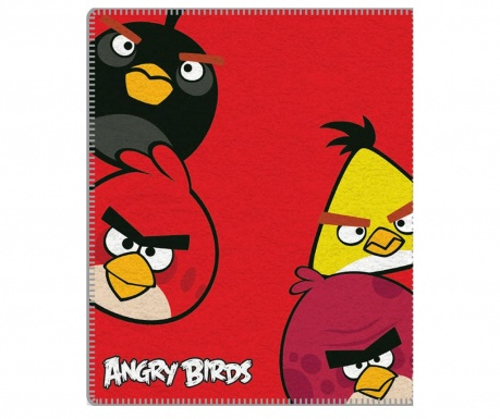 Angry Birds Red Pléd 120x150 cm