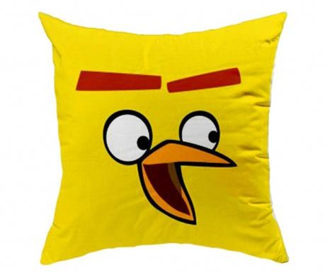 Angry Birds Yellow Díszpárna 40x40 cm
