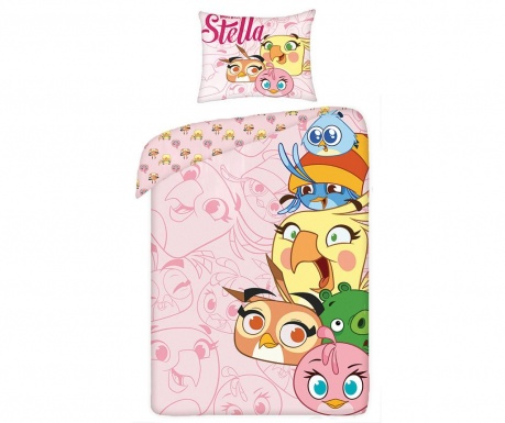 Posteljina Single Ranforce Extra Angry Birds Stella