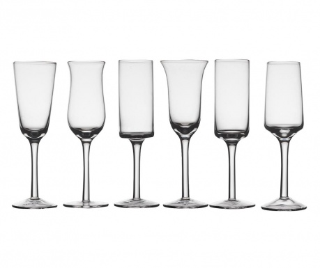 Сервиз 6 настолни чаши Diseguale 150 мл