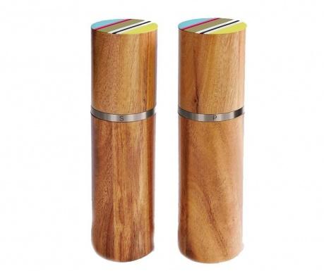 Комплект 2 мелнички за сол и пипер Verano
