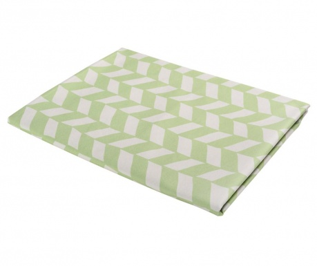Obrus Chevron Lura Green