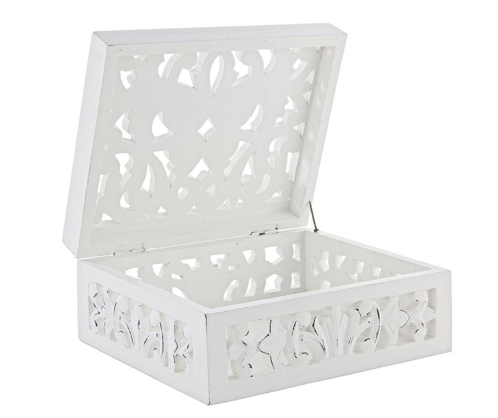 Dalila White Ékszertartó doboz