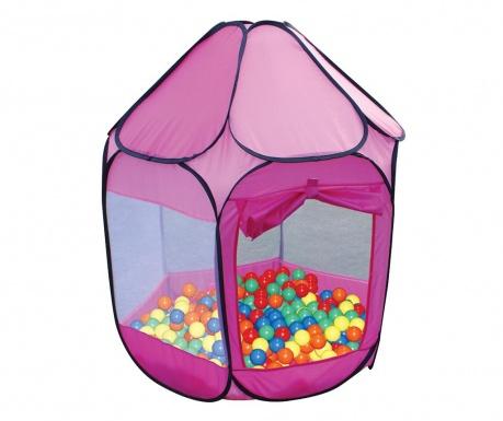 Igralni šotor z 250 žogicami Nate Pink Purple