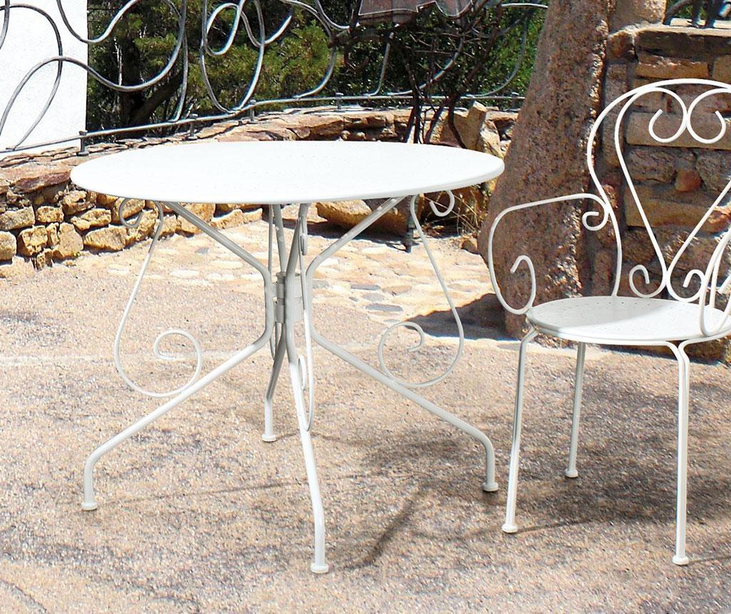 Masa pentru exterior Etienne Kia White