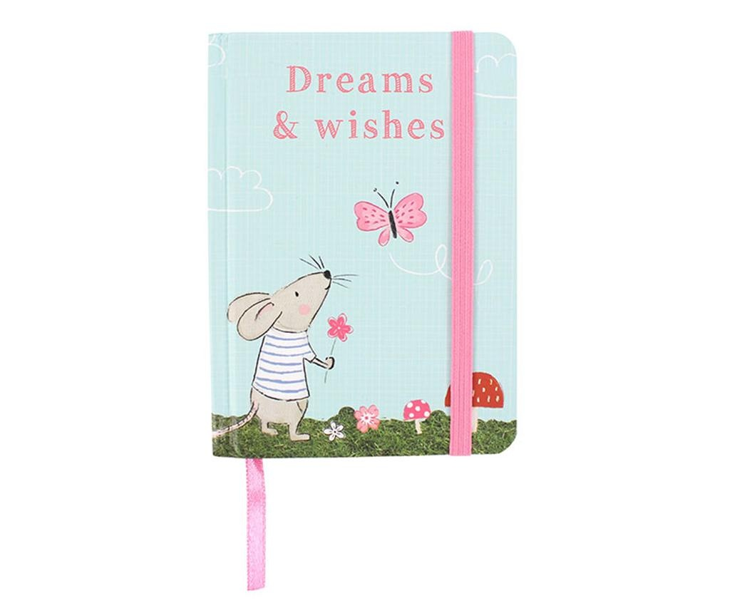 Beležka Dreams and Wishes Mouse