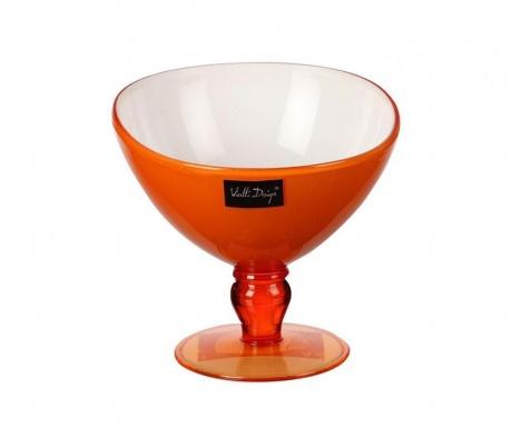 Desertna skodelica Livio Orange 180 ml
