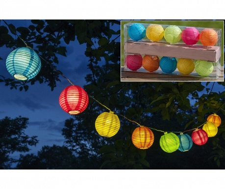 Svjetleća girlanda Colorful