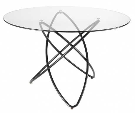 Stôl Hula Hoop Clear