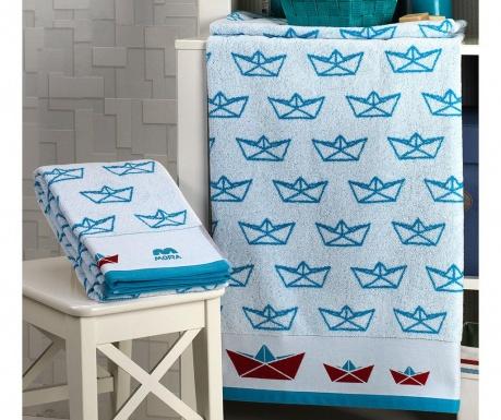 Σετ 2 πετσέτες μπάνιου Boats