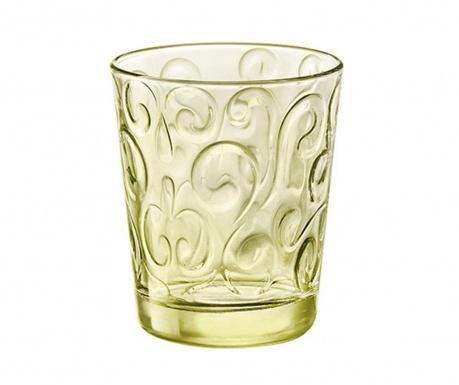 Sada 6 sklenic Naos Candy Green 290 ml