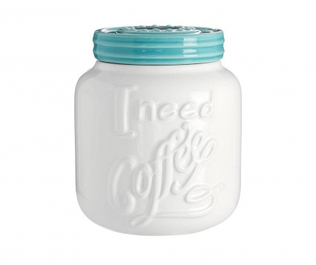 Dóza s vrchnákom na kávu Pretty 510 ml