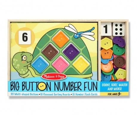 Edukativna igra 76 dijelova Number Fun