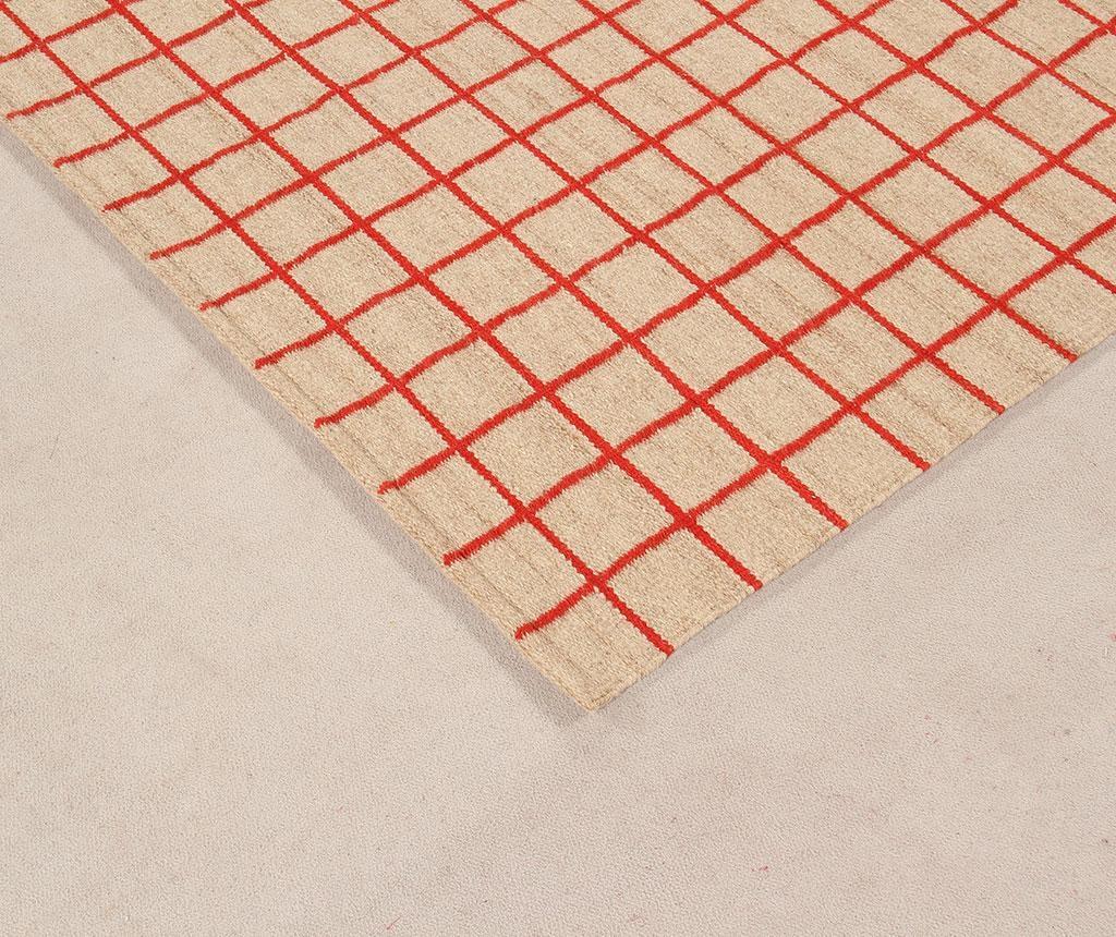 Tepih Kilim Box Red 140x200 cm