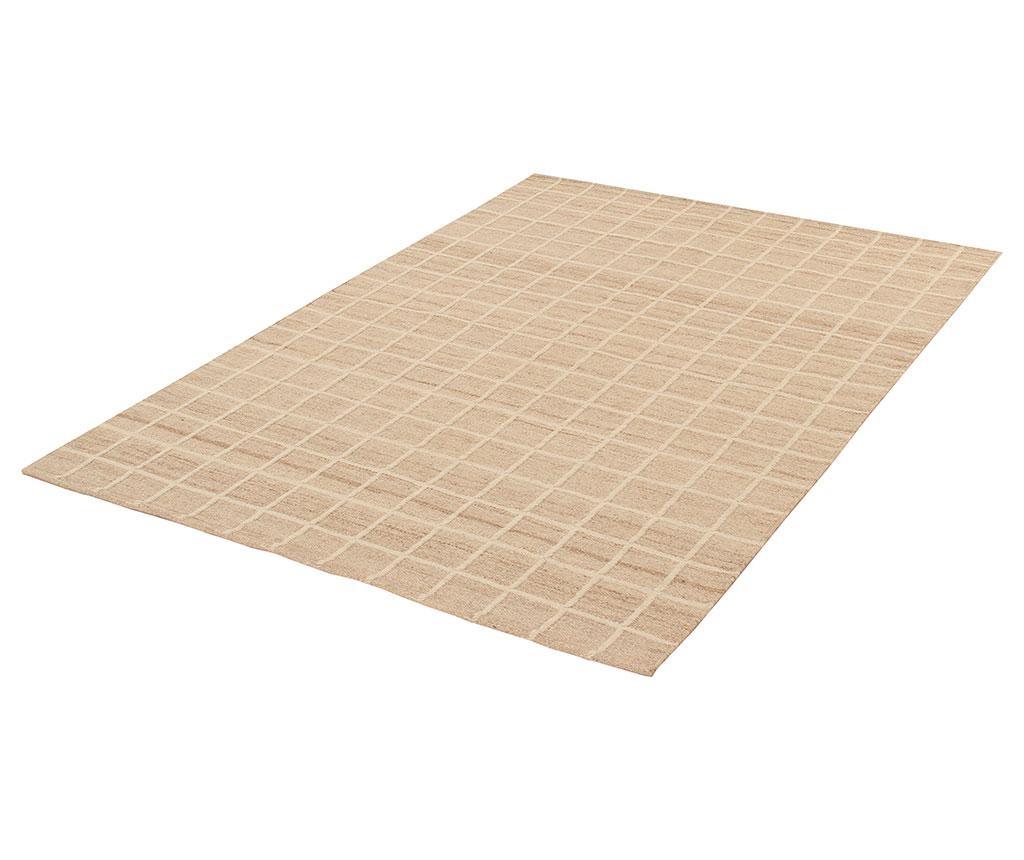 Tepih Kilim Box Ivory 160x230 cm