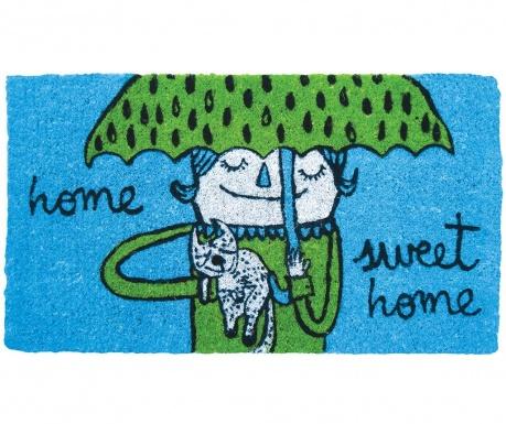 Входна изтривалка Sweet Home Blue 40x70 см
