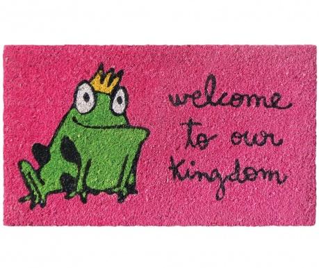 Covoras de intrare Frog Kingdom Pink 40x70 cm