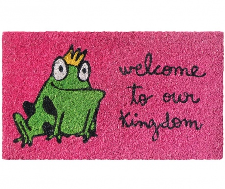 Otirač Frog Kingdom Pink 40x70 cm
