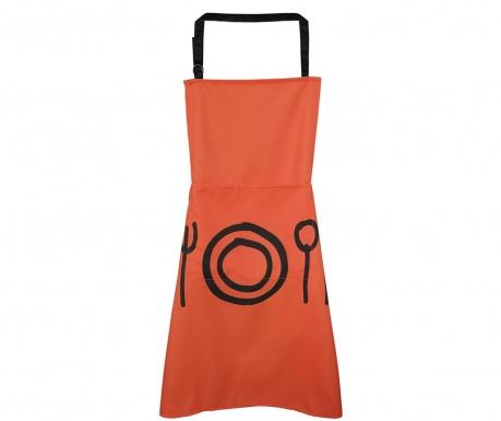 Кухненска престилка Cutlery Orange