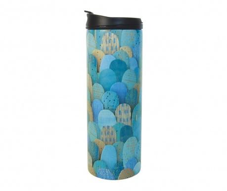 Чаша за пътуване Turquoise Mounts 400 мл