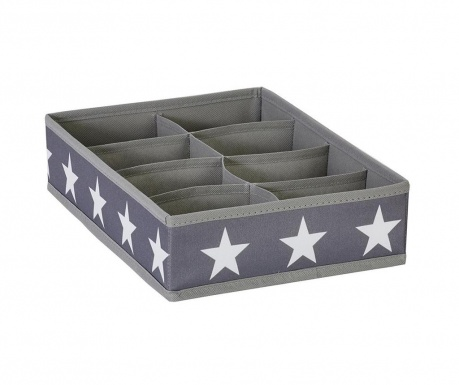 Organizator pentru sertar cu 8 compartimente Stars