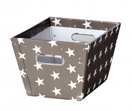 Cutie pentru depozitare Ajax Stars Dark Grey S