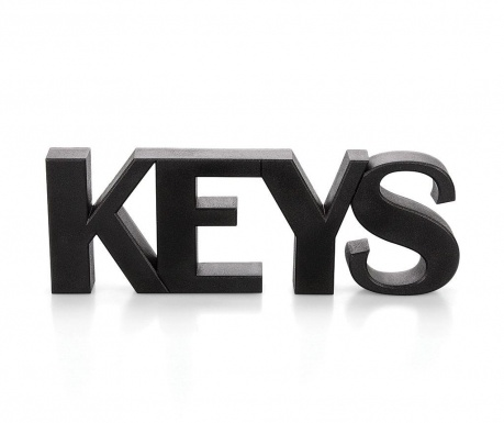Keys Black Mágneses kulcstartó