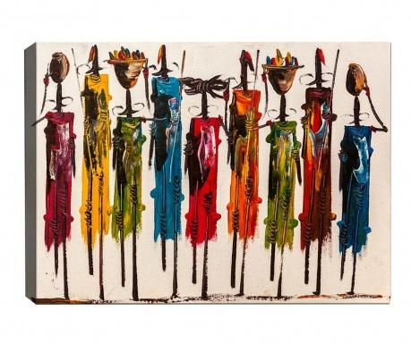Kenya Souvenirs Kép 40x60 cm