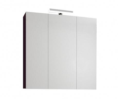 Шкафче с огледало и LED Fly Amaranto