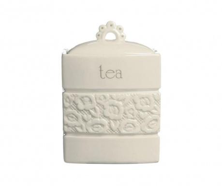 Dóza s vrchnákom na čaj Lacie