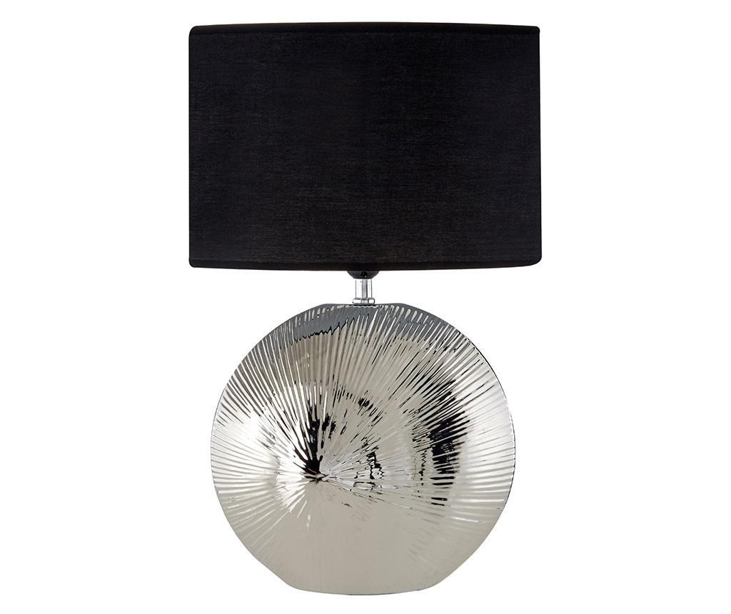 Hattie Silver Black Lámpa