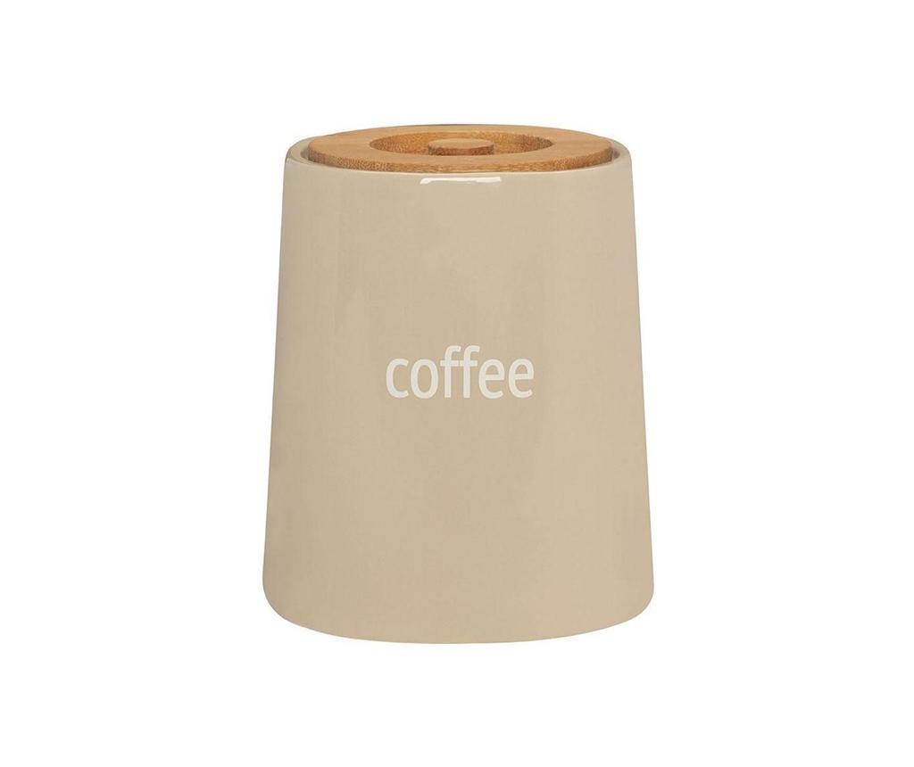 Posuda za kavu s poklopcem Ines Beige 800 ml