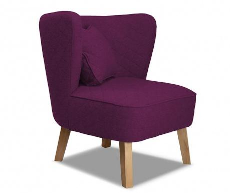 Fotel Percale Plum
